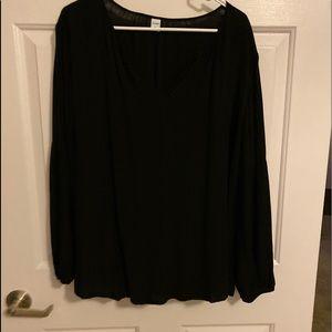 Black dressy shirt